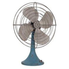 Vintage Decor Fan