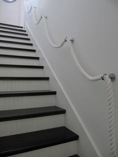 Stair Rope Banister