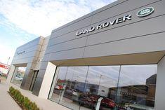 Jaguar Land Rover Pentland showroom http://www.baasl.co.uk/news/jaguar-land-rover-announce-opening-new-edinburgh-showroom-site/ #architecture #pilkingtonplanar #curtainwalling