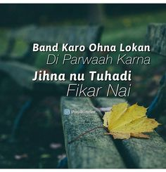 100 Best Punjabiquotes Images In 2019 Hindi Quotes Punjabi