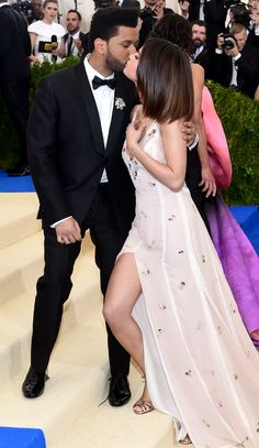 May Selena attending the 2017 Met Gala in New York, NY Hollywood Couples, Hollywood Glamour, Selena And The Weekend, Selena Gomez Photos, Star Wars, Oscar Dresses, Marie Gomez, Bridesmaid Dresses, Wedding Dresses