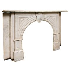 Antique Victorian Marble Mantel   From a unique collection of antique and modern fireplaces and mantels at http://www.1stdibs.com/furniture/building-garden/fireplaces-mantels/