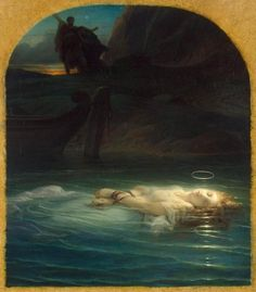 Young Martyr by Paul Delaroche. A very haunting painting to view in person.