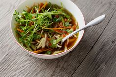 The Soup That Heals by thefirstmess #Soup #Vegetables #Miso #Sprouts