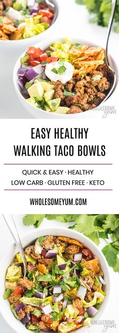 how to make a walking taco bowl recipe for a crowd or weeknight these