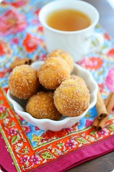 Baked Apple Cider Donut Holes           Advertise|Privacy Policy   AdChoices  More from BlogHer  Roasted Vegetables with Tahini Lemon Sauce  Homemade Dulce de Leche  Hearty Fish Chowder – Low Carb and Gluten-Free  Get Kettle Brand Chips & make your FavoriteDip! Win $100!    followers    baked apple cider donut holes