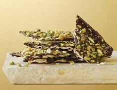 Dark Chocolate and Pistachio Matzo Bark Recipe | Vegetarian Times