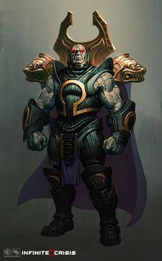 Omega King Darkseid, Phroilan Gardner on ArtStation at https://www.artstation.com/artwork/omega-king-darkseid