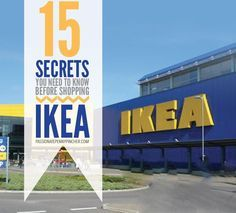 Ikea Shopping Secrets: 15 Secrets You Need To Know Before Shopping IKEA