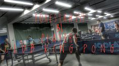 Basketball Court, Neon Signs, Content, Tennis