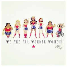 Remember we are ALL wonder women! ❤️ #wonderwoman #inspiration #motivation