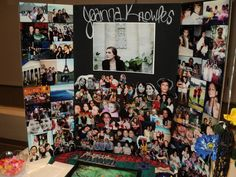 Image detail for -These boards make wonderful displays for graduation parties and will ...