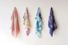 takeawei textiles - silk scarves