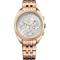 Rose Gold Ladies Watch with DayDate Tommy Hilfiger Watches, Boutique, Stainless Steel Bracelet, Michael Kors Watch, Gold Watch, Rolex Watches, Bracelet Watch, Jewelry Watches, Toms