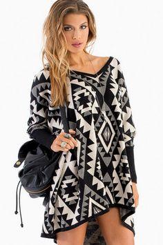 Emmy+Emmy+Aztec+Sweater+$46+at+www.tobi.com