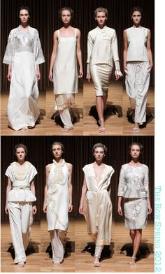 Mary Kate and Ashley Olsen's The Row Spring 2012