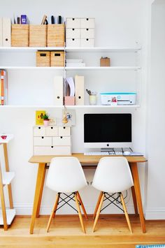 Simple desk space