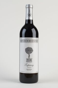 2010 Boxwood Estate Topiary blend of Cabernet Franc and Merlot