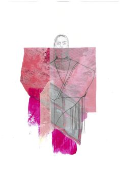Fashion illustration by Jessica Lampit