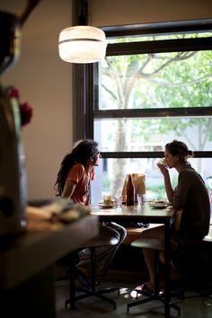 Cafe De Clieu Couple Photo: Guy Lavoipierre