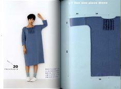 Apron  dress Yoshiko Tsukiori cute sewing straight