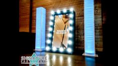 Our Mirror Package offers a full length, touch screen mirror photo booth that creates a unique photo experience for guests at your event.