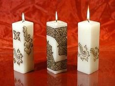 Декор свечи. Демонстрационный мастер-класс   Ярмарка Мастеров - ручная работа, handmade