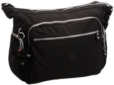 92e14a3f6db7 Kipling Gabbie, Women's Shoulder Bag, Schwarz (Black), One Size: Amazon.co. uk: Shoes & Bags