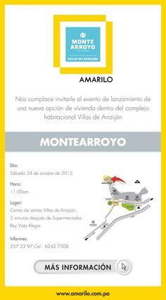#NOVOCLICK esta con #Amarilo #Lanzamiento MONTE ARROYO - Villas de Arraiján