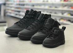 sale retailer afb35 84bfa Jordan 12 Retro Winterized Black Anthracite Toddler Preschool GradeSchool 4C-7Y    eBay Air Jordan