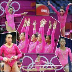TEAM USA Gymnastics.  ....Olympics 2012- London, England