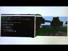 Minecraft: Pi  Minecraft gameplay on Pi can be combined with programming commands so kids can use text commands to control the world