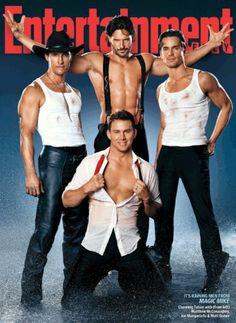 Channing Tatum, Matthew McConaughey, Alex Pettyfer, & Joe Manganiello. Oh, Yeah!!!!!
