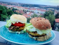 Vegetariánský hamburger pro tvého kluka