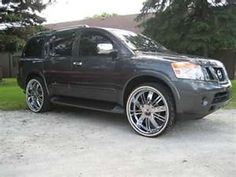 Blacked Out Nissan Armada Nissan Armada & Accessories