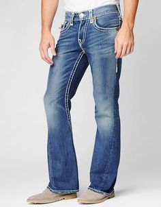 Now something for the True Religion denim aficionado. The Joey twisted flare is the jean that started it all. A classic five pocket construction sits...