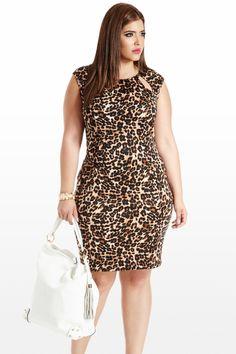Feline By Me Animal Cutout Dress