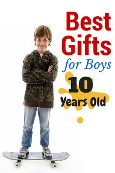 Best Christmas Toys for 10 Year Old Boys 2017 If you want the #bestgifts and #toptoys for ten year old boys - CLICK HERE