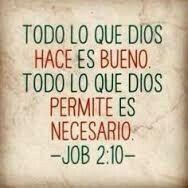 Dios sabe lo que hace!