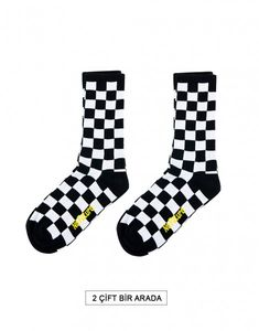 İki Çift Checkeredboard No Future Erkek Spor Çorap NF0145SY Socks, Fashion, Moda, Fashion Styles, Sock, Stockings, Fashion Illustrations, Ankle Socks, Hosiery