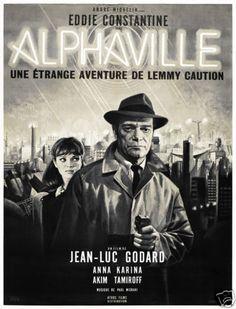 Alphaville-Jean-Luc-Godard-French-vintage-movie-poster-print