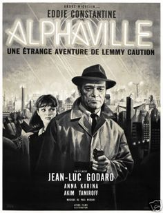 Alphaville-Jean-Luc-Godard-French-vintage-movie-poster-print