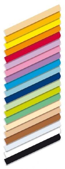 Askartelukartonki 170g, A4, 10kpl/pakkaus, useita eri värejä