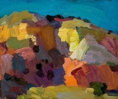 """Desert Patchwork by Larisa Aukon Oil ~ 10"""" x 12"""""""