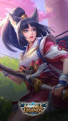 ML Wallpaper - Miya Suzuhime Heroes Marksman of Skins Twilight Pass Mobile Legend Wallpaper, Hero Wallpaper, Hd Wallpapers For Mobile, Gaming Wallpapers, Game Character, Character Design, Miya Mobile Legends, Alucard Mobile Legends, Free Avatars