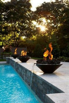 Browse swimming pool designs to get inspiration for your own backyard oasis. Discover pool deck ideas and landscaping options to create your poolside dream.