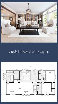 5 Bedroom Modular Homes – Bedroom Ideas Clayton Modular Homes, Best Modular Homes, Modular Home Floor Plans, Clayton Homes, Best House Plans, Dream House Plans, House Floor Plans, Bedroom House Plans, Home Bedroom