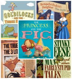 Fractured Fairy Tales from Youth Literature Reviews.