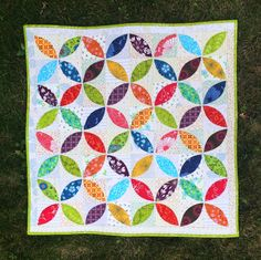 Orange Peel Quilt Block | ve been so busy finishing things now that the book is over but I did ...