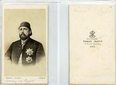 C. Jacotin, Ismaïl Pacha Vice-Roi d'Egypte     #CDV #portraits #Hommes_politiques